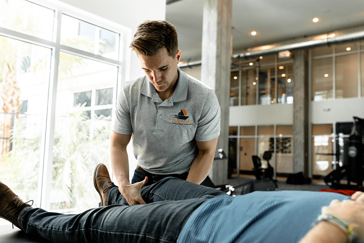 passive and active physical therapy for your hip and knee